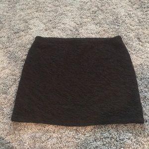 Mini Black Pencil Skirt